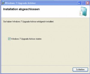 2_Windows_7_Upgrade_Advisor_Install_abgeschlossen