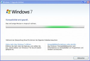 4_Windows_7_Upgrade_Advisor_Pruefung_lauft