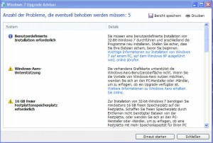 5_Windows_7_Upgrade_Advisor_Ergebnisse