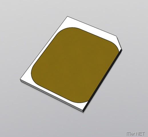 chip schablone micro sim