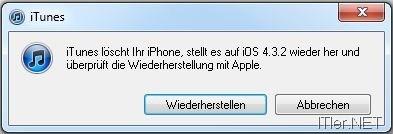 iphone 3gs nach jailbreak wiederherstellen