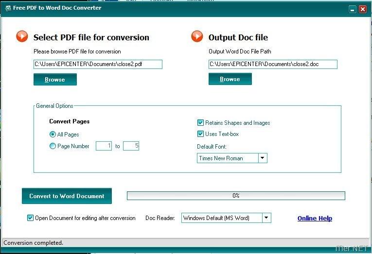 umwandeln in pdf kostenlos