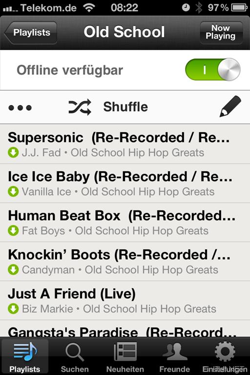 Spotify Bricht Ab