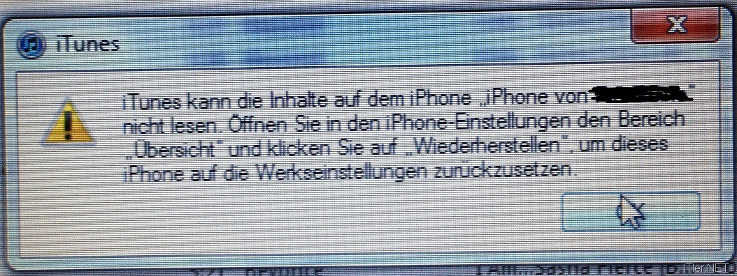 IPHONE INHALTE UND EINSTELLUNGEN LÖSCHEN GEHT NICHT