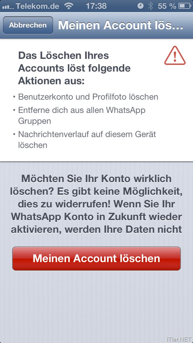 löschen von mails auf iphone nicht möglich