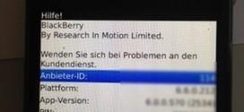 BlackBerry-PIN-IMEI-anzeigen