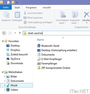 Windows-Send-To-bearbeiten