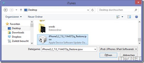 iOS-wiederherstellen