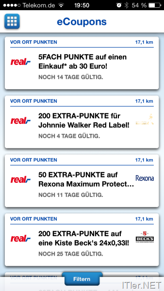 Payback coupons automatisch aktivieren