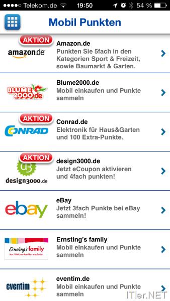 Payback app coupons werden nicht geladen