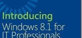 Windows-8-1-for-IT-Professionals