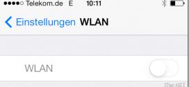iPhone - WLAN ist ausgegraut