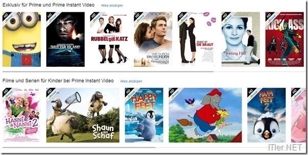 Filmangebot Amazon Prime