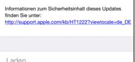 SSL-iOS-Sicherheitsupdate