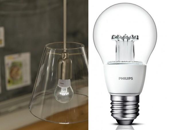 philips clear led verdammt nah an der gl hbirne. Black Bedroom Furniture Sets. Home Design Ideas
