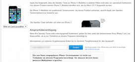 iPhone-5-Rückruf-Aktion-Standby-Taste