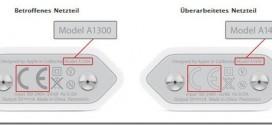 Apple-Ladegerät-Austausch