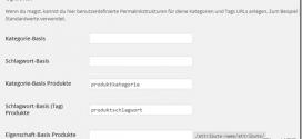 WooCommerce-Produktkategorie-Fehler