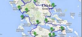 Karte-Griechenland