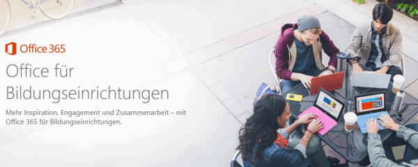 Office-365-für-Bildungseinrichtungen