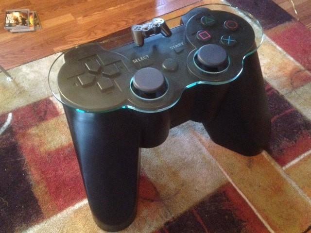Gamer tisch  PS3 Controller Tisch – für echte Gamer