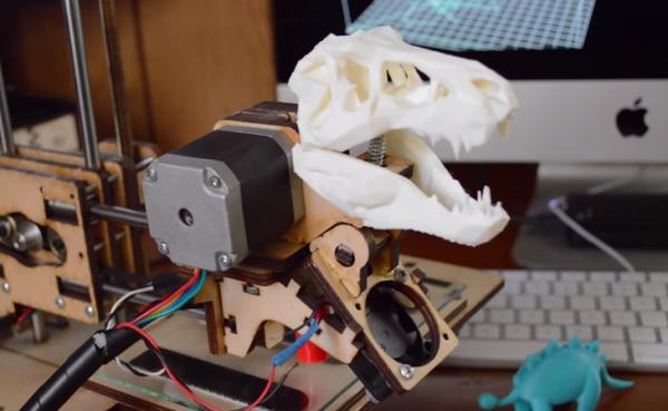 Jurassic Park Sound aus dem 3D Drucker