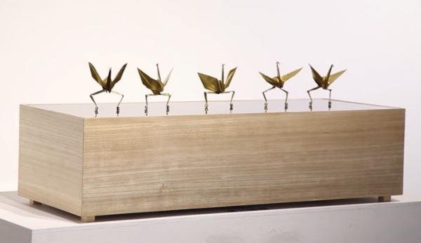 Tanzendes-Papier-Kranich-Ballet