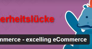 WooCommerce-Sicherheitslücke