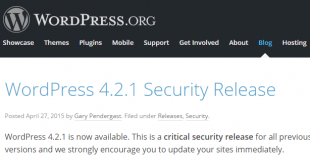 Wordpress-Sicherheitsupdate-4-2-1