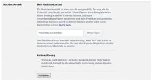 Facebook-Nachlasskontakt-einrichten