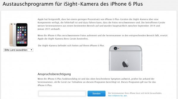 Austauschprogramm-Apple-iPhone-6-Plus-Kamera