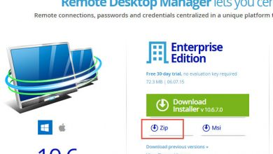 "Photo of Remote Desktop Manager – komplett ""portable"" machen"