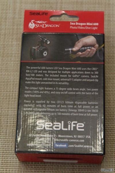 Sealife - Sea Dragon Mini 600 - Test (5)
