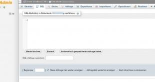 Wordpress SQL Befehle Übersicht