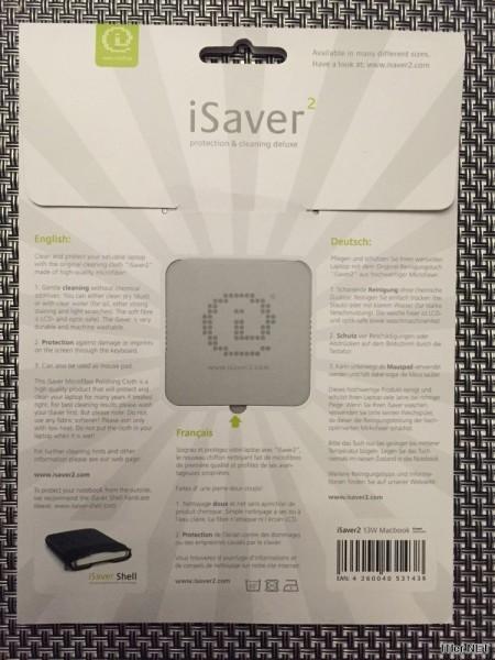 iSaver2 - Bildschirm-Schutz-und-Reinigungs-Tuch im Test (2)