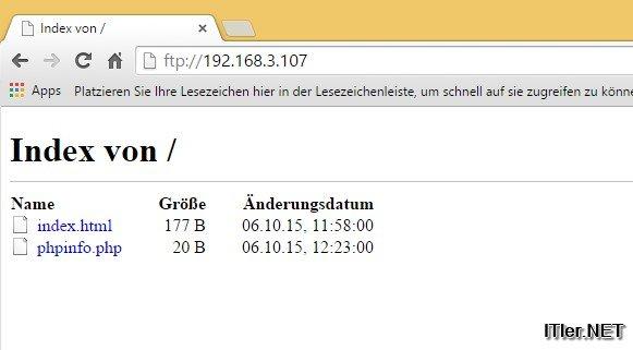 Raspberry Pi – Apache, PHP, MySQL Installation – Anleitung (110)
