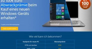 Windows-Hardware-Abwrackprämie