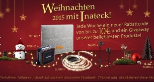 Inateck-Weihnachtsaktion