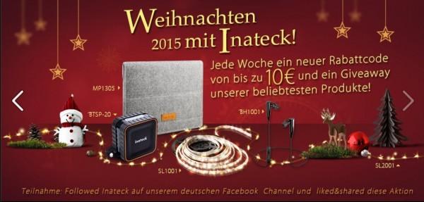 Inateck-Weihnachtsaktion