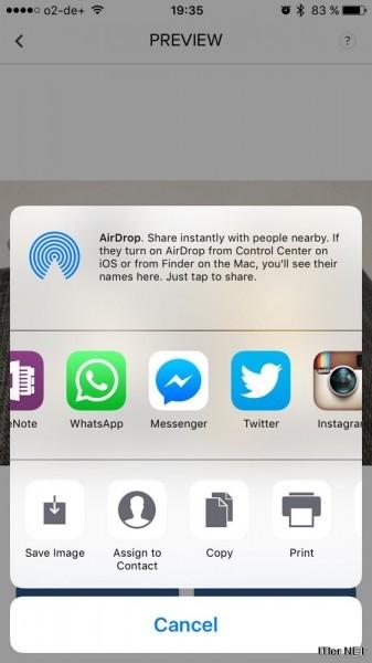 iPhone Live Fotos als GIF oder Movie versenden (3)