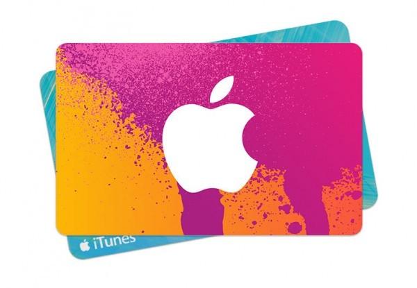 iTunes-Geschenkkarte-Angebot