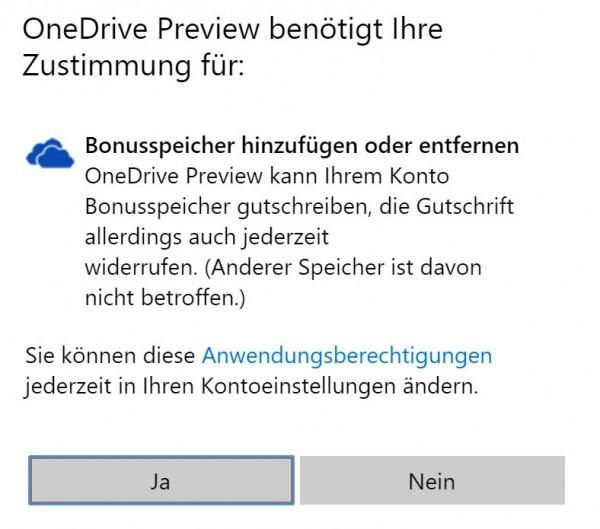 One Drive Speicher behalten - Microsoft rudert zurück 2