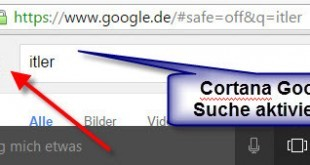 Windows 10 Suche von Bing auf Google umstellen - Anleitung (1)
