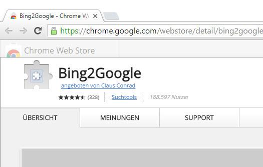 Windows 10 Suche von Bing auf Google umstellen - Anleitung (4)