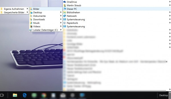 Windows 10 - den ganzen Desktop in der Taskleiste-3