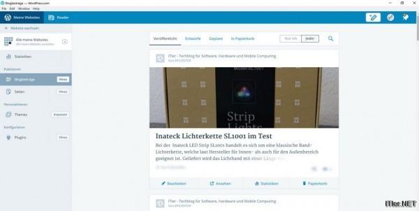 Wordpress Beiträge direkt am Windows PC erstellen (2)