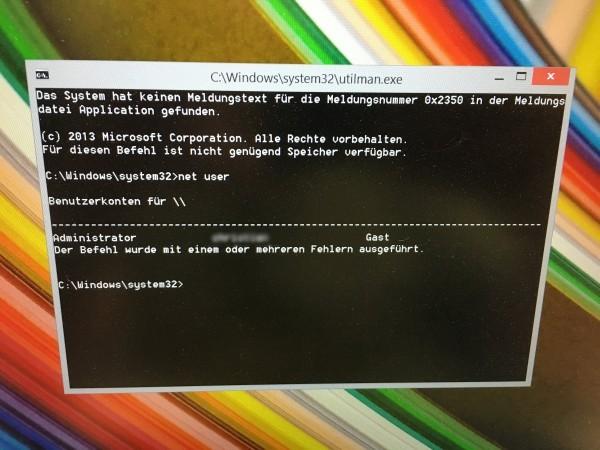 Windows 10 - Passwort vergessen - Passwort knacken (10)