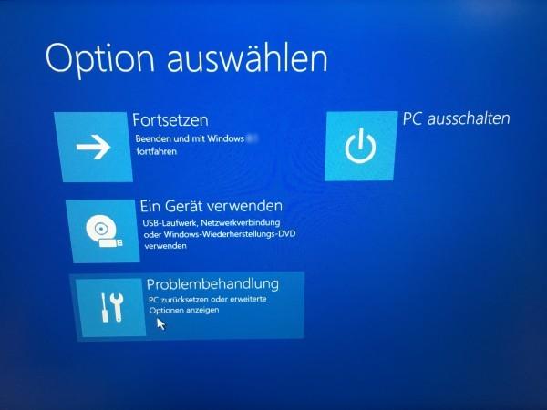 Windows 10 - Passwort vergessen - Passwort knacken (3)