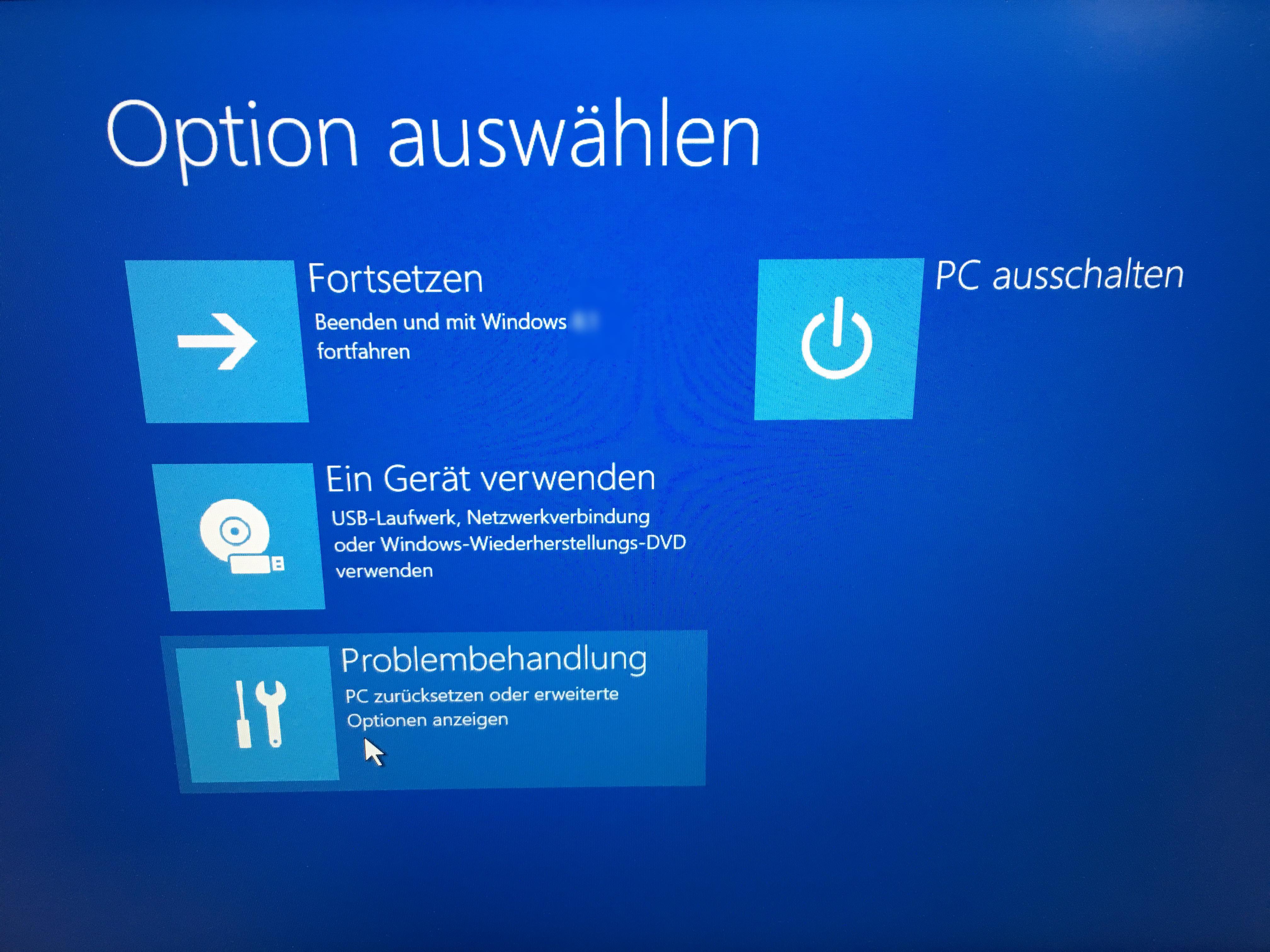 Windows 10 Passwort Vergessen