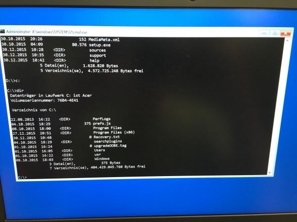 Windows 10 - Passwort vergessen - Passwort knacken (6)